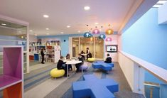 Image 8 of 16 from gallery of Heathfield Primary School / Holmes Miller Architect. Photograph by Andrew Lee 21st Century Schools, 21st Century Classroom, Learning Spaces, Learning Environments, Primary School, Elementary Schools, School Building Design, Nursery School, Library Design