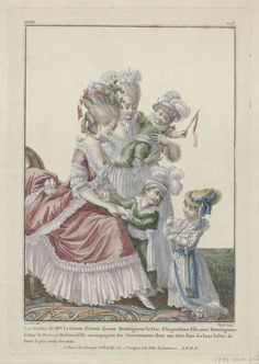 18th Century Clothing, 18th Century Fashion, Costume Français, Costumes, Pierre Thomas, Charles X, Beautiful Paris, Mademoiselle, Fashion Plates