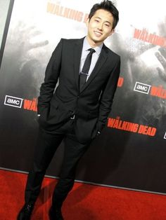 Steven Yeun, he's so handsome