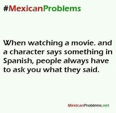 #Mexican problems