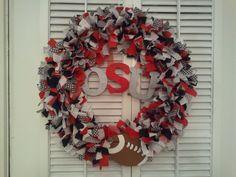 Let's go BUCKS...first wreath I created..