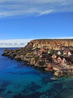 A picture I took of the Popeye movie set during my trip to Malta - Popeye Village Mellieha Malta http://ift.tt/2Ds83yQ