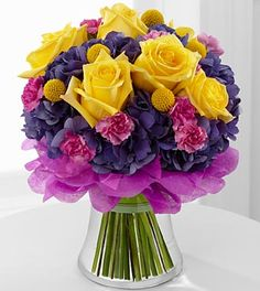 birthday labella baskets | ... Color Your Day With Happiness Bouquet « La Bella Gift Baskets Shop email: flowervalleyflorist@yahoo.com