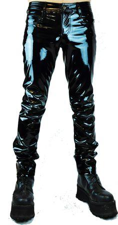 Black PVC Pants PAT