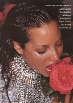 Vogue UK, October 1994 Photographer : Nick KnightModel : Christy Turlington