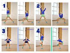 Smukłe uda NA ZAMÓWIENIE  Pomiędzy każdym z tych ćwiczeń zrób 30 pajacyków  Każde ćwiczenie wykonaj po 15 powtórzeń na każda stronę!! Całość razy 3  To dodatek do jutrzejszego SECRETU