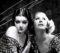 Myrna Loy  Greta Garbo