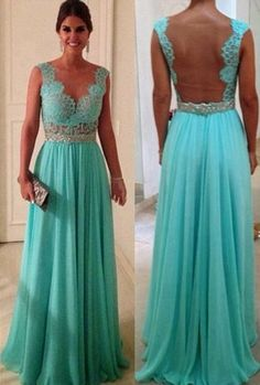 Prom Dresses love the open back! Would definitely show off my scar!