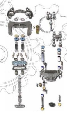 Caliper Repair Kits: Sistema de Travões