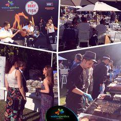 """Hilton Gün Bahçesi'nde WaterGarden İstanbul ana sponsorluğunda düzenlenen """"#Beef & #Fish"""" etkinliğinde lezzet ve keyif bir aradaydı! #TadıBaşka #WaterGardenİstanbul #KeyfiBaşka #RuhuBaşka #nature #food #yemek #gurme #lezzet #istanbul #energy #fun #happy #gourmet #lezzet #delicious #fresh #gastronomi #eğlence #fashion #foodie #restaurant #gastro"""