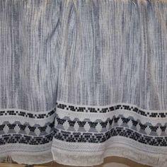 Fringe Benefits Italian Cotton Blend Panel – White/Blue/Black/Gray