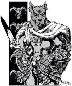 Lupercus- Roman myth: the wolf god of Shepherds and winter. He protected shepherd flocks from wolves.