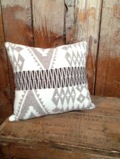 Native American Blanket Throw Pillow Pendleton by IndianvsIndian, $40.00