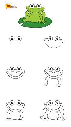easy drawings drawing fun simple step beginners lessons space