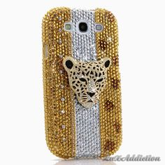 """Style 702 This Bling case can be handcrafted for Samsung Galaxy S3, S4, Note 2. The current price is $79.95 (Enter discount code: """"facebook102"""" for an additional 10% off during checkout)"""
