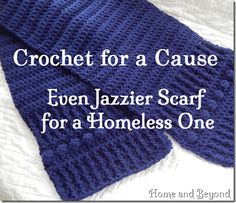 Even Jazzier Scarf for a Homeless One