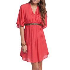 RU Apparel Women's Carly Short Sleeve Dress | Boot Barn