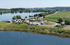 Wohnmobilstellplatz: Beschreibungstext für das Bild - Wohnmobilplatz an den Zielfinger Seen