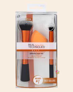 REAL TECHNIQUES Ultimate Base Set Yüz Makyajı Fırça Seti