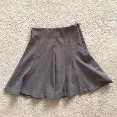 Zara trafaluc pleated skirt high waist Skirt fits true to size. Worn one time. Zara Skirts Circle & Skater