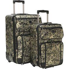 Sydney Love New Travel Print 2 Pc. Luggage Set