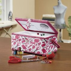 Home-X Sewing Basket with 126 Sewing Kit Accessories Home-X http://www.amazon.com/dp/B00I9JG6TI/ref=cm_sw_r_pi_dp_QfC2tb1DG89THH7R