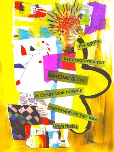 healing trauma- Art journaling can allow memories that are intruding into the present moment to be seen, understood and cared for.