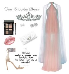 A fashion look from October 2016 featuring halter gown, evening sandals and kate landry handbags. Browse and shop related looks. Glitter Purse, Halter Gown, Evening Sandals, Effy Jewelry, Marchesa, Stuart Weitzman, Pink Dress, Fashion Looks, Shoulder Dress