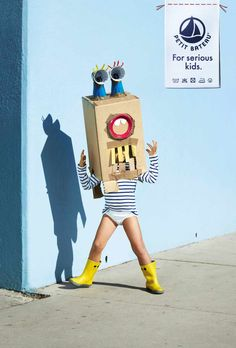 Petit Bateau: For serious kids, 2 | Advertising Agency: BETC, Paris, France; Creative Directors: Rémi Babinet, Jasmine Loignon; Art Director: Damien Bellon