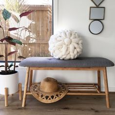 The new Kmart Australia foot stool styled by … – Home Decor Inspiration Kmart Home, Kmart Decor, Australia Living, Affordable Home Decor, Home Decor Styles, Living Room Decor, Living Area, Living Spaces, Bedroom Decor