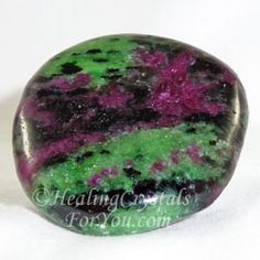 Anyolite is also known as Ruby in Zoisite This stone is a mixture of red Ruby stone and green Zoisite.... and nature has created a truly wonderful combination of energies in this combined stone. It supplies a vibration that creates an altered state of consciousness... to help you to understand yourself and the world around you. Anyolite is a truly spiritual stone... and a powerful aid for anyone whose spirituality is ready to reawaken.