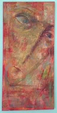"Offer 100$ Saatchi Online Artist Eka Peradze; Painting, ""Offer 100$.angel. "" #art"