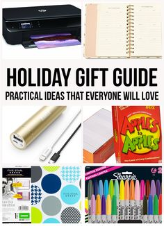 Practical Holiday Gift Guide- practical gift ideas that everyone will love!