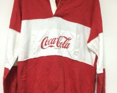 coca cola rugby shirts for sale | Benetton rugby | Etsy