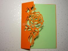 How to DIY Kirigami Rose and Butterfly Greeting Card   iCreativeIdeas.com