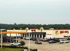 Buc-ee's in Luling, TX... the best place in the world to find ham and cheese kolaches. =)