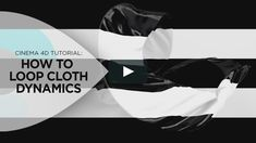 In this tutorial, I'm going to show you how you can create a seamless cloth simulation/dynamics loop in Cinema 4D.  First, I'll show you how you can create…