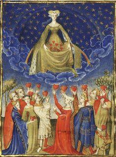 15th century houppelande | 15th century (first quarter?) France?Paris, Bibliothèque nationale de ...dags