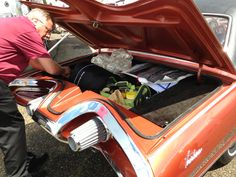 Chrysler Turbine Car (trunk)