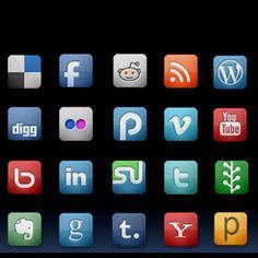 Social Platforms used by CosmicVillage.net
