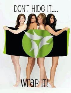 Don't hide it!!! #skinnywrap #itworks #thinkthinwithn #healthy #green #allnatural