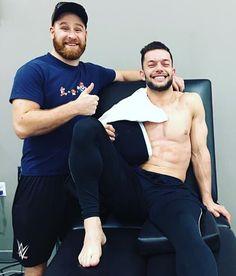 Finn Balor & Sami Zayn