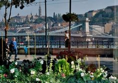 Danube Promenade Budapest The Danube Promenade or Dunacorso is walking path on the Pest side of Budapest, which extends from the Chainbridge to the Elizabeth bridge. Walking Paths, Brooklyn Bridge, Budapest, City, Travel, Viajes, Cities, Trips, Tourism