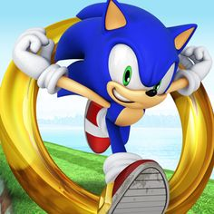 Sonic Dash. Wish they put this on Android already.
