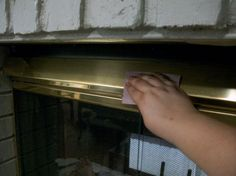 paint brass fireplace doors. How To Paint A Brass Fireplace Screen to update a fireplace surround  brass Four Generations One
