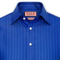 Contest Stripe Shirt - Double Cuff by Thomas Pink