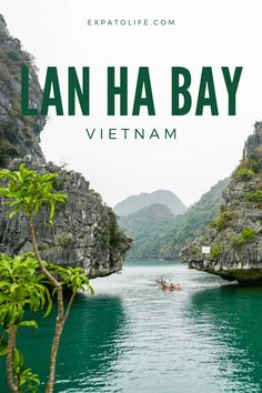 Looking for an amazing getaway experience in Northern Vietnam? Lan Ha Bay near Cat Ba island is a great choice. The bay is famous for its majestic scenery, rich biological system, and outdoor activities. Read this Lan Ha Bay guide to know how to travel to Lan Ha, best places to stay on Cat Ba island, the weather in Lan Ha Bay, the best time to visit and amazing experiences that you can't miss when visiting Lan Ha Bay. Travel Route, Places To Travel, Travel Destinations, Travel Pics, Thailand Travel, Asia Travel, Wanderlust Travel, Cat Ba Island, Vietnam Travel Guide