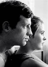 "Las fotos de rodaje de ""À bout de souffle"" de Jean-Luc Godard ..."