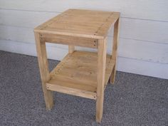 Diy - Plans To Make - End Table Set - Indoor/outdoor Furniture For Patio Lawn Or…