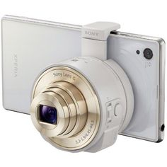Sony Attachable Zoom Lens For Smartphones  One of the coolest products you can purchased in a while.